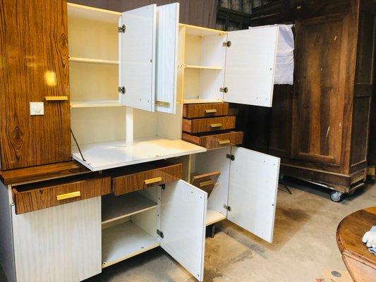 Mueble de cocina vintage de fórmica