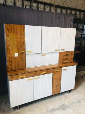 Mueble de cocina vintage de fórmica en venta en Pamono