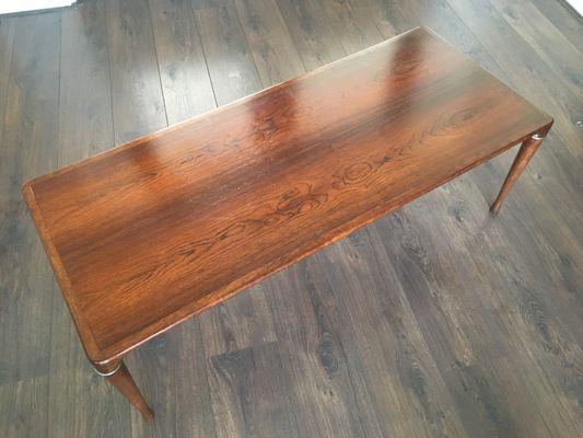 Scandinavian Wooden Coffee Table, 1960s 7