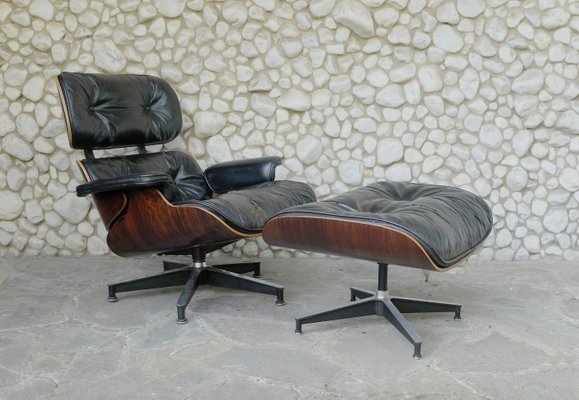 Sensational Vintage 670 Lounge Chair And 671 Ottoman By Charles Ray Eames For Herman Miller Cjindustries Chair Design For Home Cjindustriesco