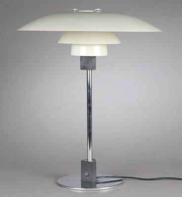 Vintage Ph 4 3 Table Lamp By Poul Henningsen For Louis Poulsen