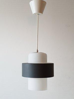 Et À Suspension Pour Lierre En Acier Kalff Par Louis Philips1960s Verre Lampe H29IYDWE