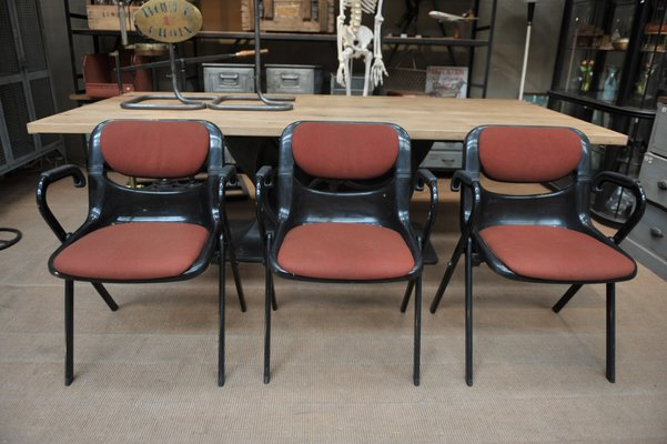 Dorsal Office Chairs In Plastic Metal By Emilio Ambasz Giancarlo
