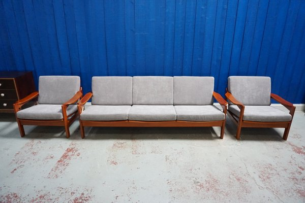 Mid Century Modern Danish Living Room
