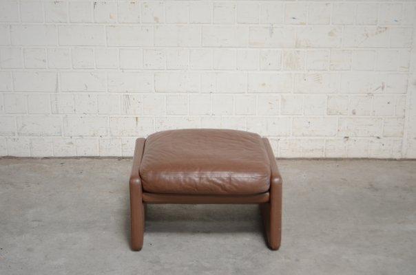 Fabulous Vintage Ds36 Pouf Aus Leder Von De Sede Pdpeps Interior Chair Design Pdpepsorg