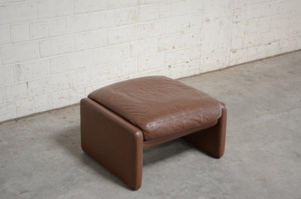 Remarkable Vintage Ds36 Pouf Aus Leder Von De Sede Pdpeps Interior Chair Design Pdpepsorg