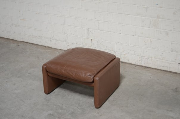 Incredible Vintage Ds36 Pouf Aus Leder Von De Sede Pdpeps Interior Chair Design Pdpepsorg