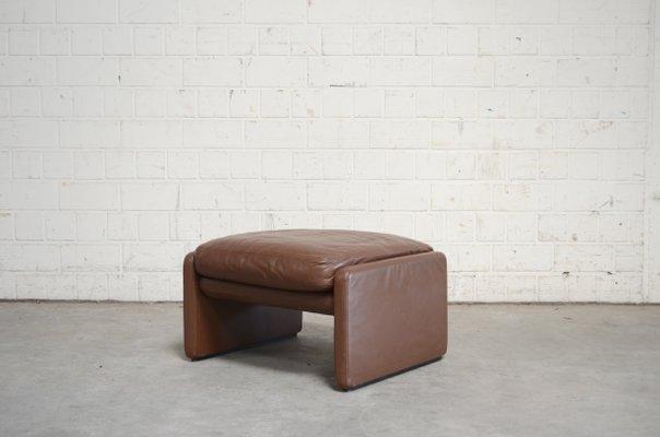 Astonishing Vintage Ds36 Pouf Aus Leder Von De Sede Pdpeps Interior Chair Design Pdpepsorg
