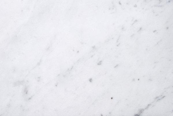 Square Small Plate In White Carrara