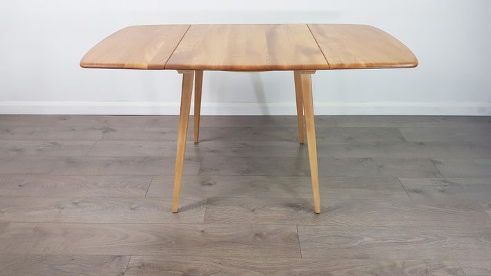 Mid Century Extendable Dining Table By Lucian Ercolani For Ercol 1960s 1