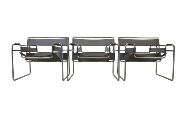 Bauhaus Gavina B3 Wassily Stuhle Von Marcel Breuer Fur Gavina