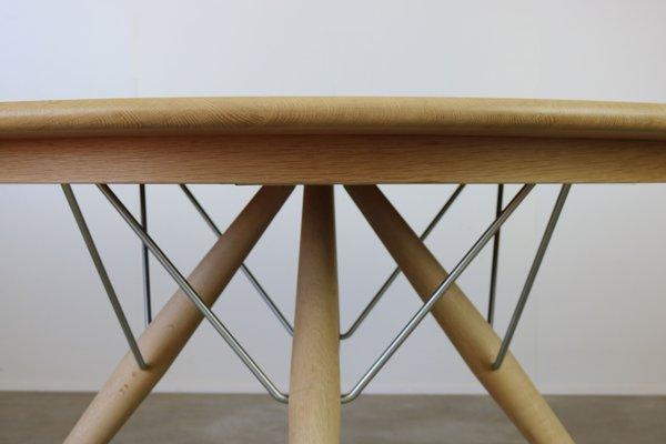 PP75 Dining Table & 4 PP205 Chairs by Hans J. Wegner for PP Møbler, 1980s