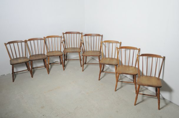 Dining Chairs By Børge Mogensen For Fdb Møbler 1940s Set Of 8 1