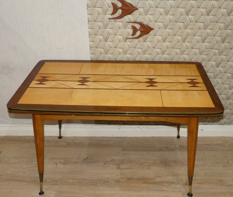 Coffee Table Extendable Top.Extendable Height Adjustable Coffee Table 1960s