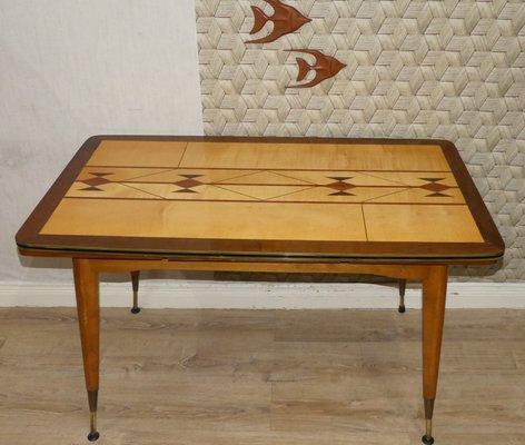 Table Basse Extensible A Hauteur Ajustable 1960s