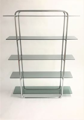 buy online a7959 1d16d Chrome Free Standing Shelving Unit, 1970s