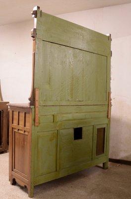Badezimmerschrank Aus Nussholz Im Jugendstil Bei Pamono Kaufen