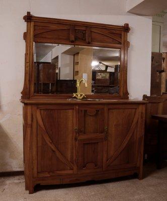 Armario de cuarto de baño modernista de nogal en venta en Pamono