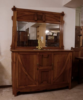 Meuble de Salle de Bain Art Nouveau en Noyer en vente sur Pamono