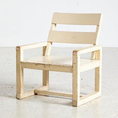 Marvelous White Bauhaus Children Chair 1950S Uwap Interior Chair Design Uwaporg