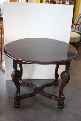 Antique Austrian Walnut Table For Sale At Pamono