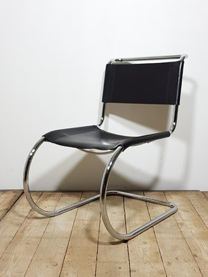 Wondrous Mr10 Chair By Ludwig Mies Van Der Rohe For Thonet 1990S Creativecarmelina Interior Chair Design Creativecarmelinacom