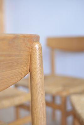 Superbe Table Shaker Et Chaises De Salle à Manger Oresund Mid Century Par Borge  Mogensen Pour