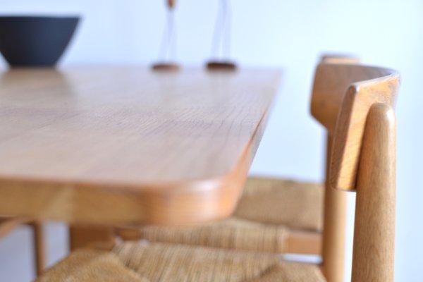 Genial Table Shaker Et Chaises De Salle à Manger Oresund Mid Century Par Borge  Mogensen Pour