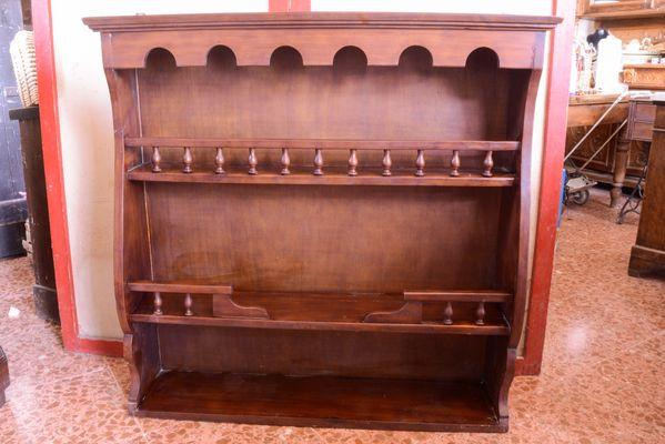 Vintage Regal aus Holz, 1970er bei Pamono kaufen