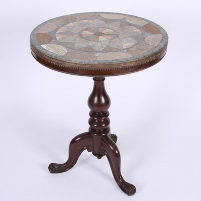 Antique Marble Side Table 1