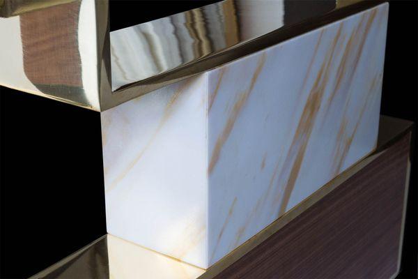 Table de salle à manger xenia par sergio simon en vente sur pamono