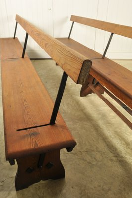 Groovy Antique Victorian Church Pew Tram Bench Dailytribune Chair Design For Home Dailytribuneorg