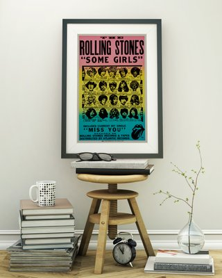 Affiche Affiche StonesSome Girls1978 Girls1978 Rolling Affiche The Rolling The StonesSome The PknOw0