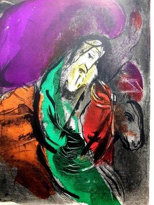 Bibel Lithografie Von Marc Chagall Fur Atelier Mourlot