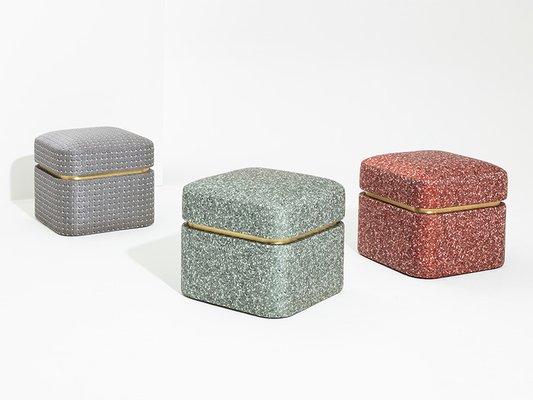 Ariosto Pouf von Cristina Celestino für Attico Design
