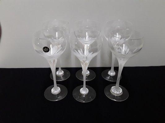 Credenza Per Bicchieri : Bicchieri vintage da porto di michael boehm per rosenthal set 6
