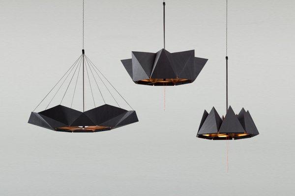 Inmoov Adjule Black Pendant Lamp By Studio Nina Lieven