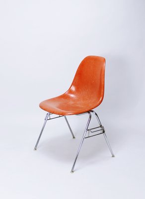 Ray and charles eames furniture Herman Miller Vintage Dss Stacking Chair By Ray Charles Eames For Herman Miller Hive Modern Vintage Dss Stacking Chair By Ray Charles Eames For Herman Miller