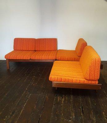 Modulares zweiteiliges Vintage Sofa-Set von Guy Rogers