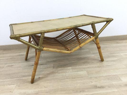Bamboo Coffee Table 1
