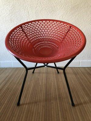 fauteuil acapulco de fantasia, 1950s en vente sur pamono