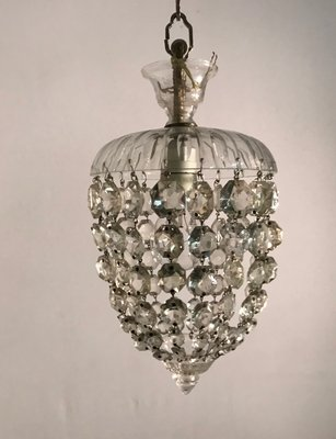 À Vintage En Murano Suspension Cristal Lampes gvmb76yfYI