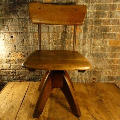 En JKottmannAllemagne1950s Bureau Petite Chaise De Bois 6gbf7y
