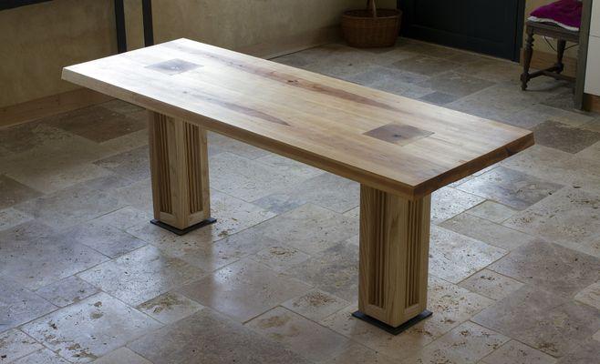 Table de Salle à Manger Itadakimasu d\'Atelier Villard, 2018