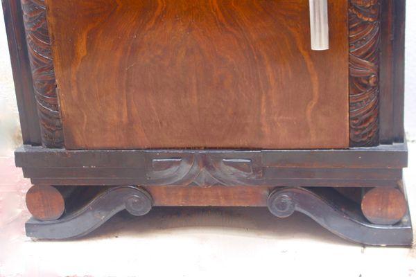 Tables Déco En NoyerEspagne1940Set 2 Chevet De Art c4Rj3AqL5S