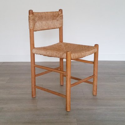 Woven Seat Dining Chairs 1950s Set Of 4 For Sale At Pamono