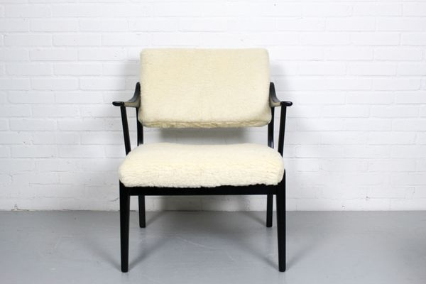 Vintage Set aus aus HolzBezug Stühle Merinowolle2er 4qcALSj5R3