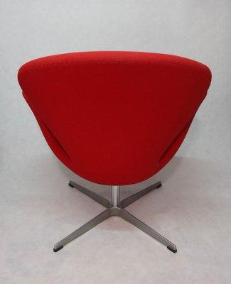 Vintage Swan Sessel Von Arne Jacobsen Für Fritz Hansen Bei Pamono Kaufen