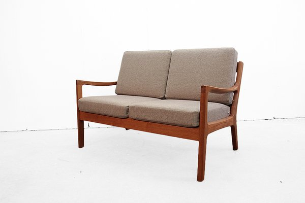 Danish 2-Seater Sofa by Ole Wanscher, 1960s