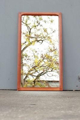 Specchio da parete grande di Aksel Kjersgaard per Odder Møbler, anni ...